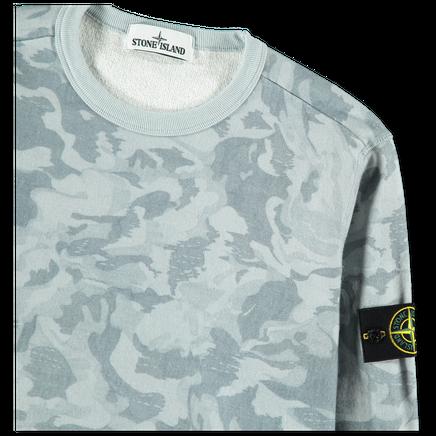 Big Loom Print Camo Sweatshirt - 7215605E4 - V0041