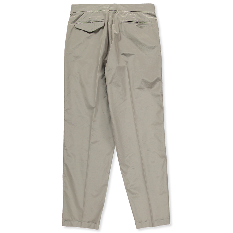 Lt Poly/Cotton Pleated Trouser