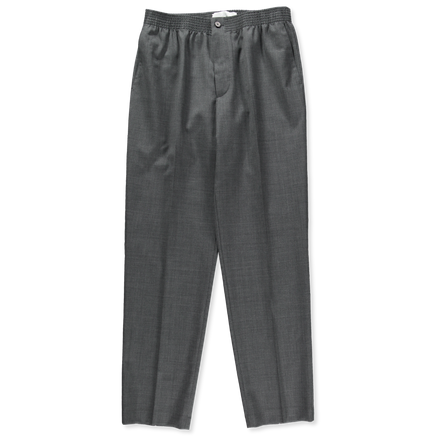 Regular Stretch Waist Wool Trouser