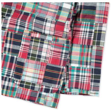 3-Roll-2 Blazer - Patchwork Madras - Bishop