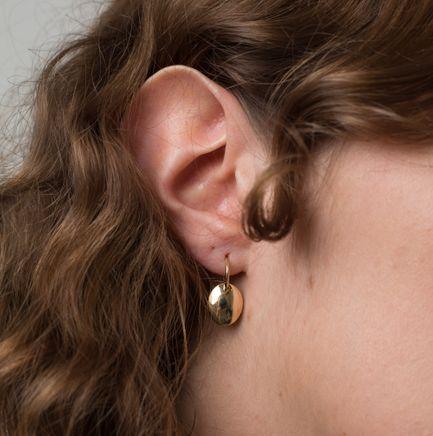Petite Stella Hoop Earring
