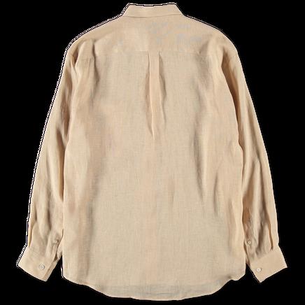 See-Through Linen Shirt