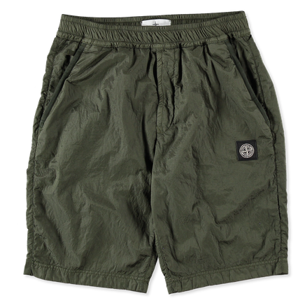 Nylon Metal Ripstop Shorts