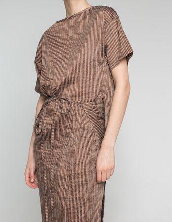 C/R Light Stripe Dress