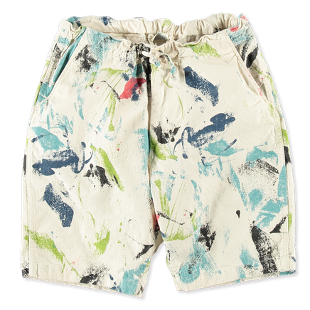 New Yorker Print Shorts