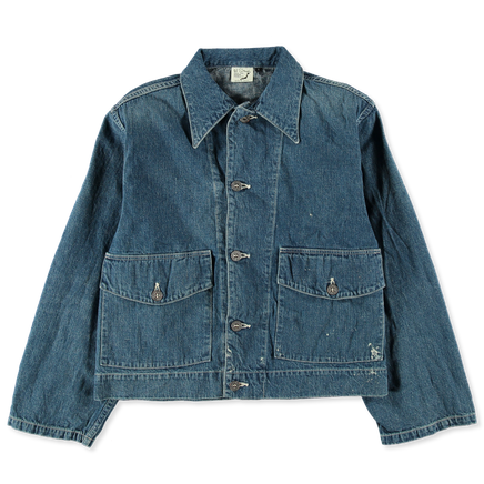 30's US Army Short Denim Jacket