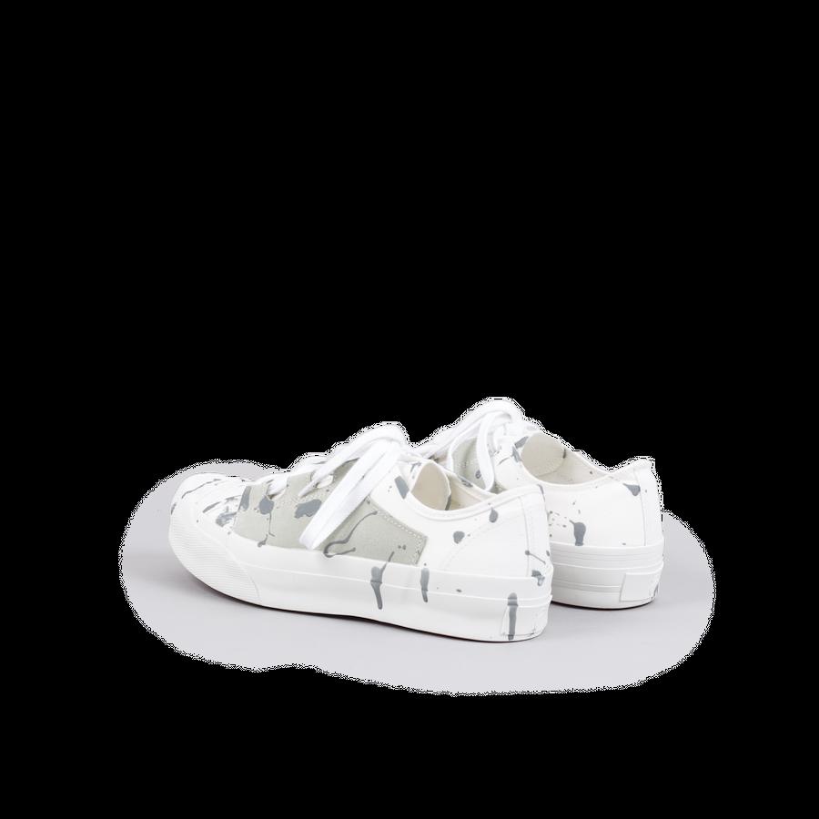 Asymmetric Ghillie Sneaker / Paint