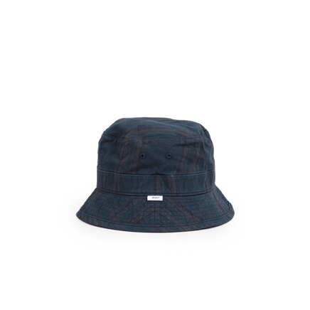 Bucket Hat 01 Checked Poplin