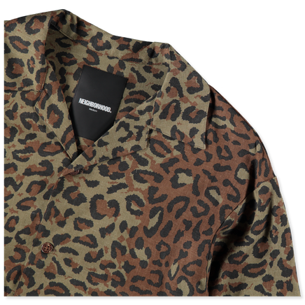 Leopard Aloha S/S Shirt