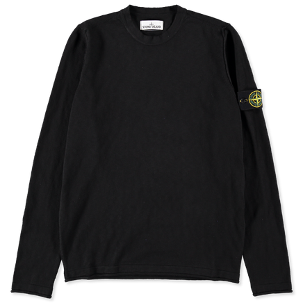 Garment Dyed Crew Neck Knit