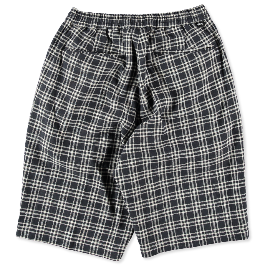 Plaid Linen Bryan Shorts