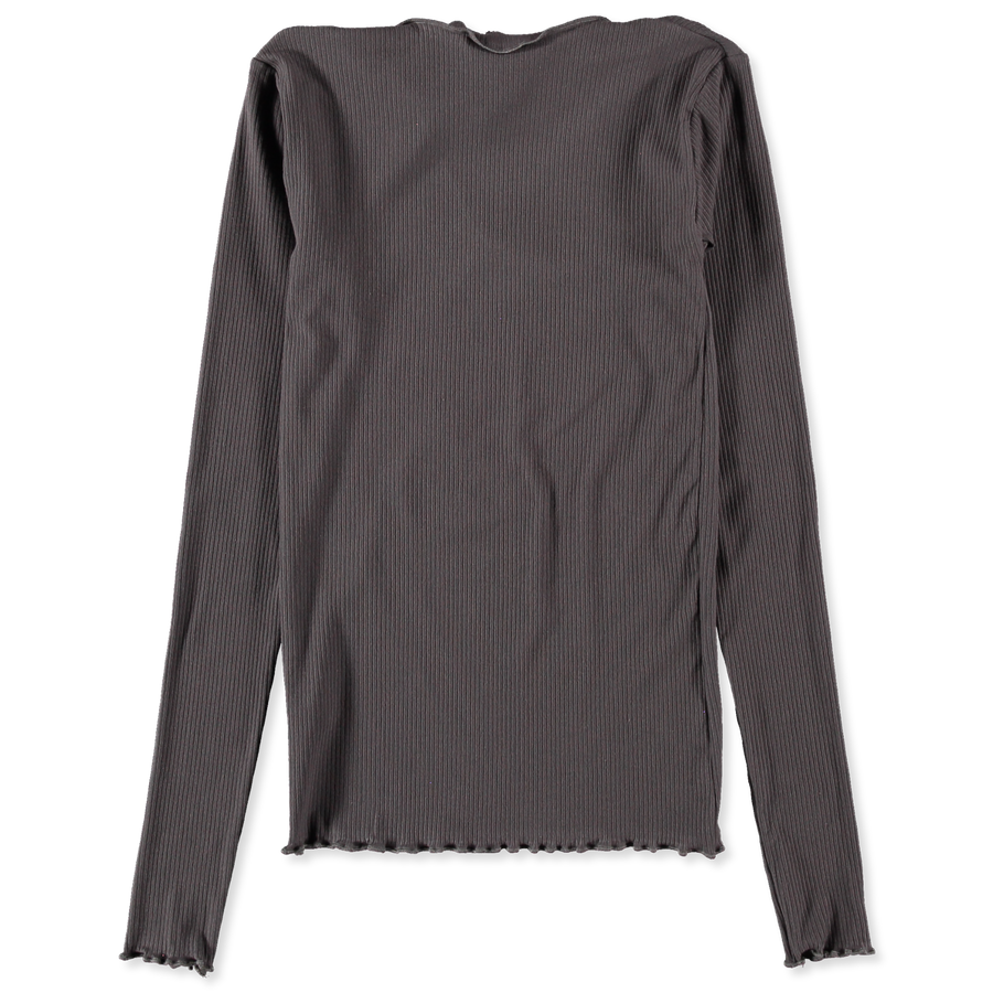 Loch Cotton Rib Long Sleeve