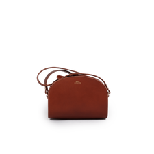 A.P.C. Demi Lune Mini Bag - Brown