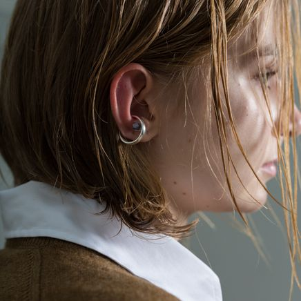 Gemstone Ear Cuff