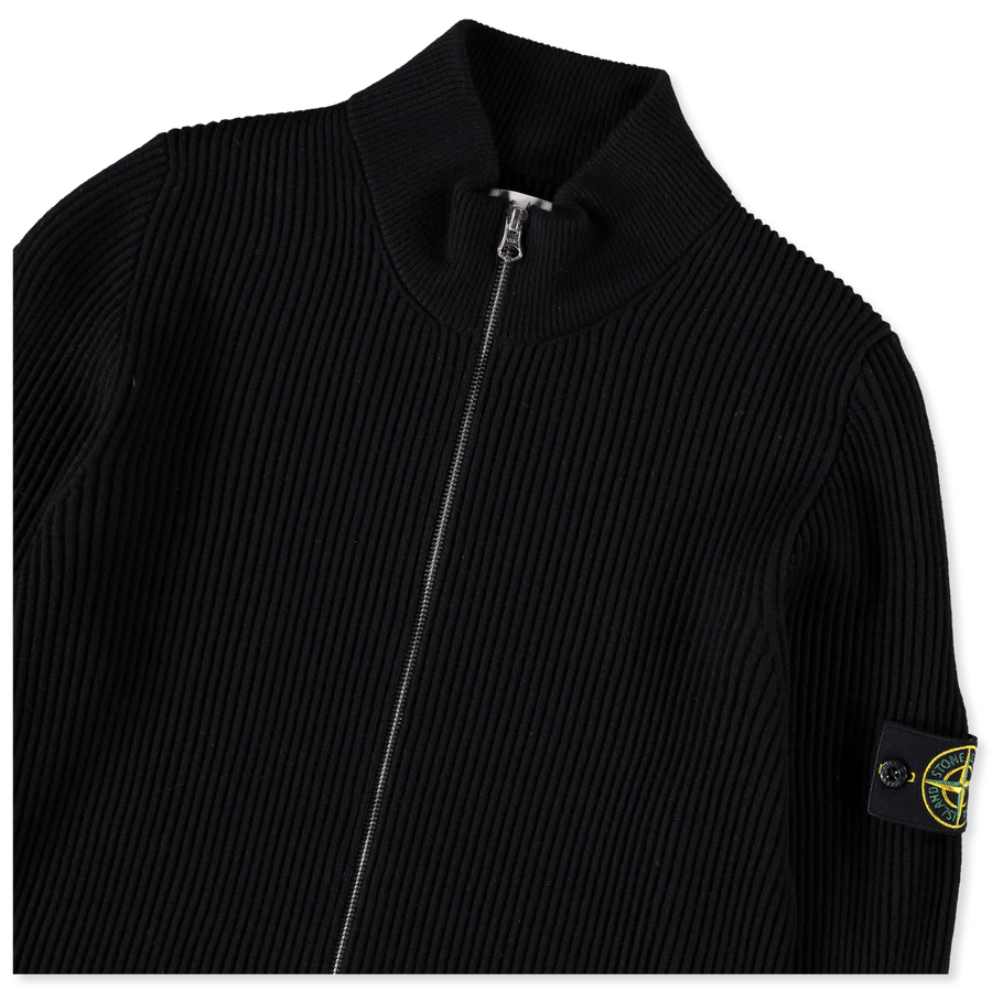 English Rib Wool Full Zip Knit - 7315523C2 - V0029