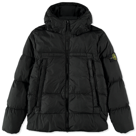 Crinkle Reps NY Hooded Down Jacket - 731540723 - V0029