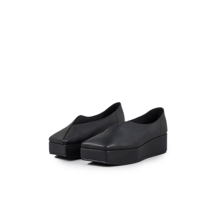 Streamlined Square Toe Platforms