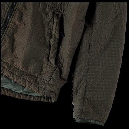 731544234 V0059 Poly Colour Frame Hooded Jacket