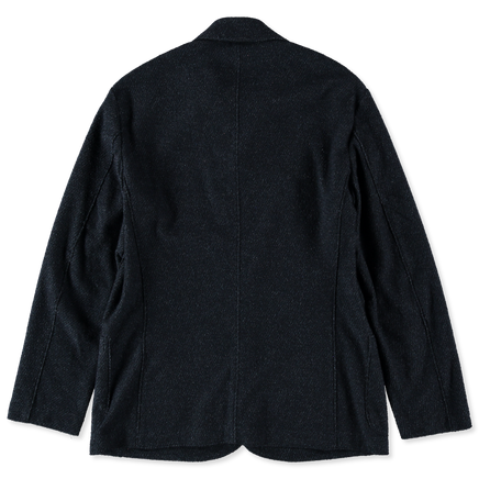 Dropped Shoulder Twilled Terry Jacket