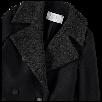 Military Wool/Bouclé Coat