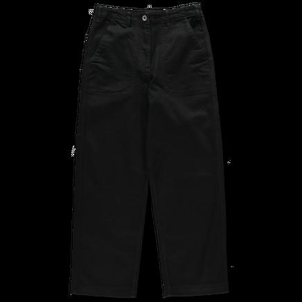 Ashley Black Long Crop Jean