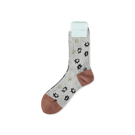 Ditsy Floral Crew Sock