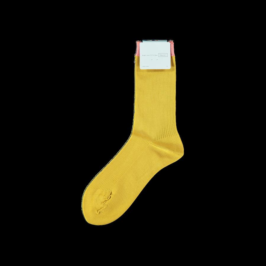 Heirloom Fine Rib Crew Sock