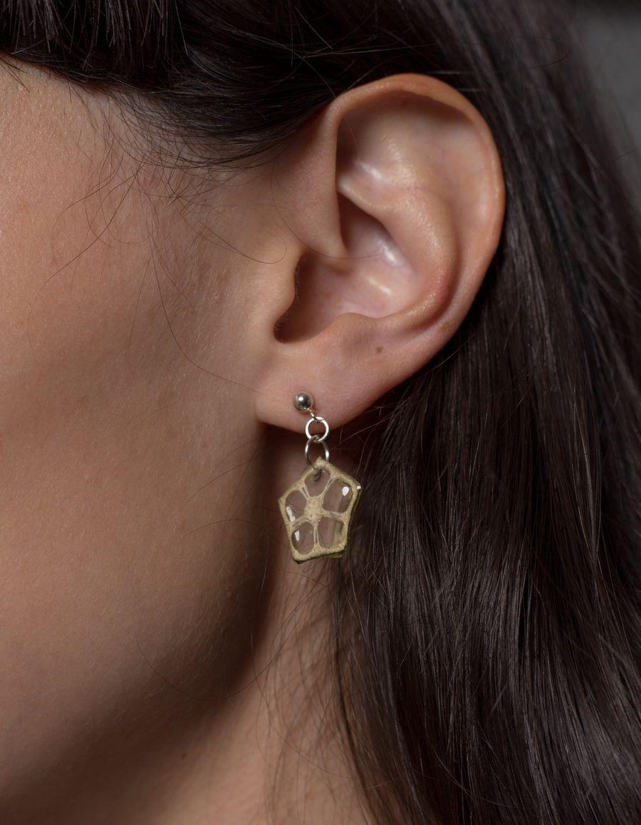 Okra Earring