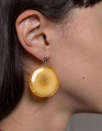 Carrot Earring