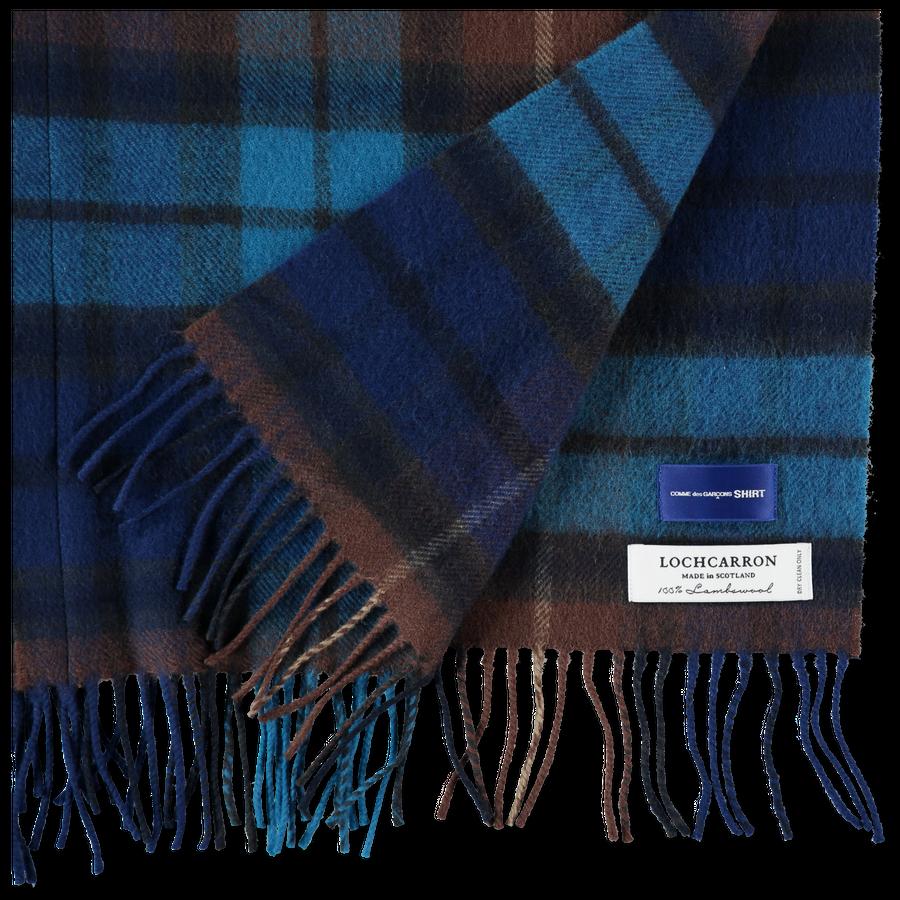 Wool Tartan Poncho