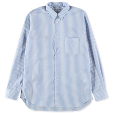 Comme des Garçons SHIRT Forever Narrow Classic Stripe Shirt - Blue