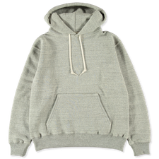 orSlow Hooded Sweatshirt - Grey
