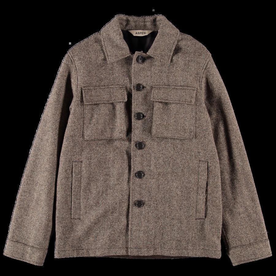 HB Tweed Shirtjacket