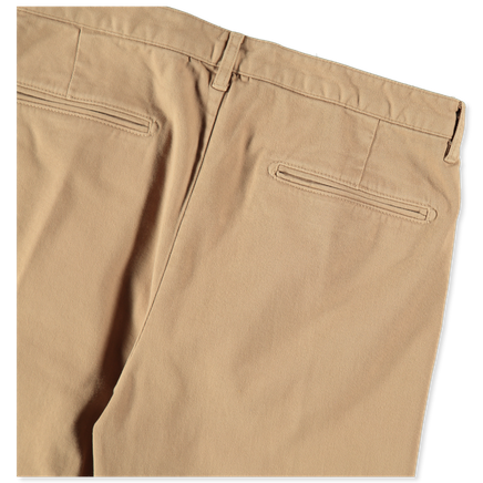 Strallo Gabardine Stretch Trousers