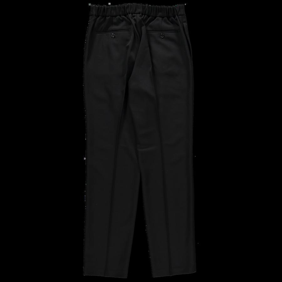 1 Pleat Adjuster Wool Pant
