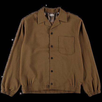 Wool Blouson Shirt