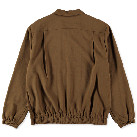 Wool Blouson Shirt