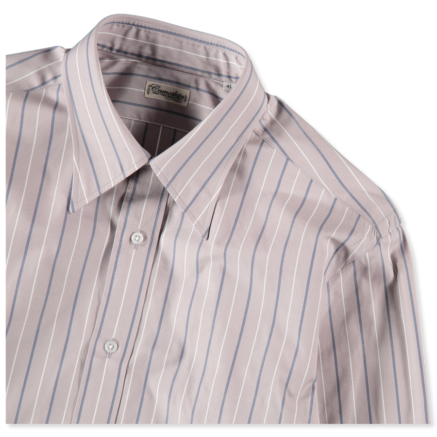Regular Collar Stripe Shirt
