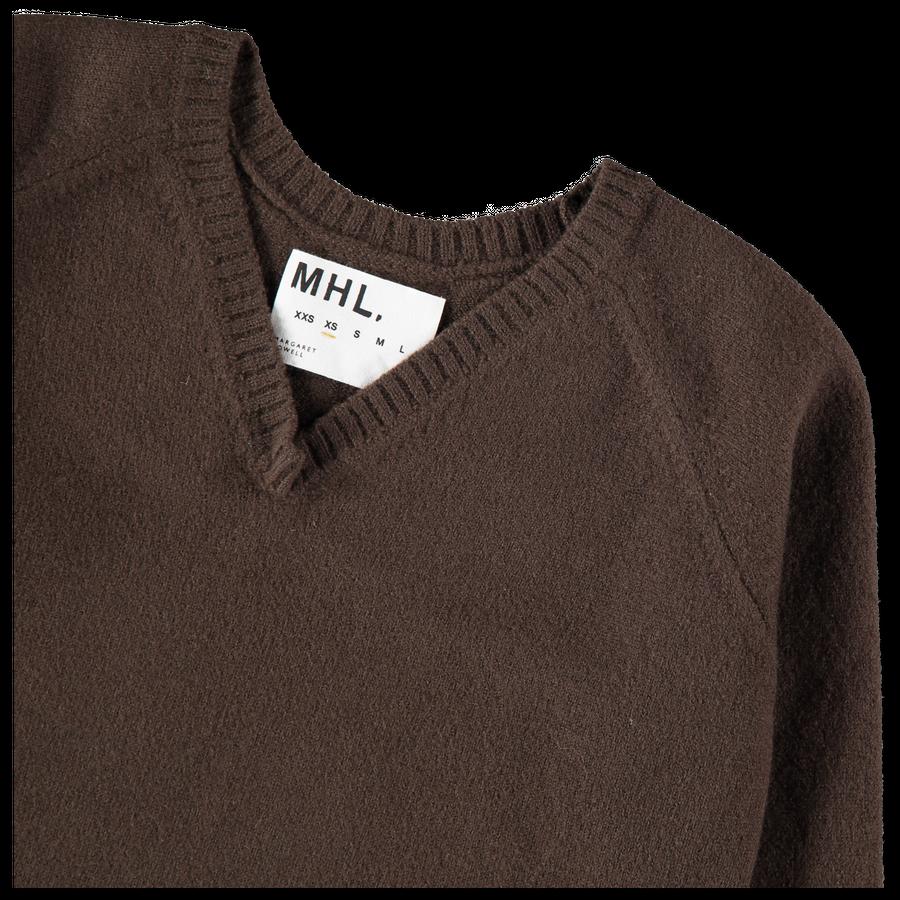 MHL Felted V Neck Sweater