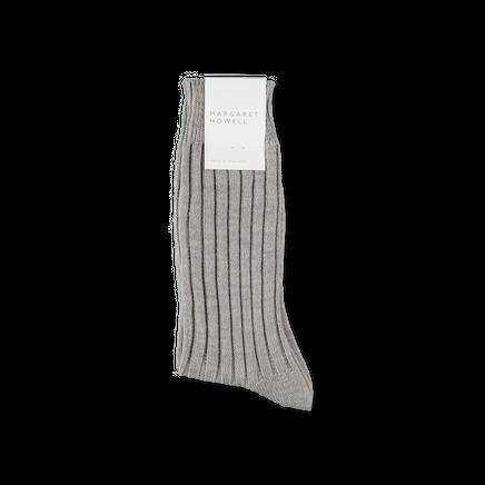 Merino Wide Rib Sock
