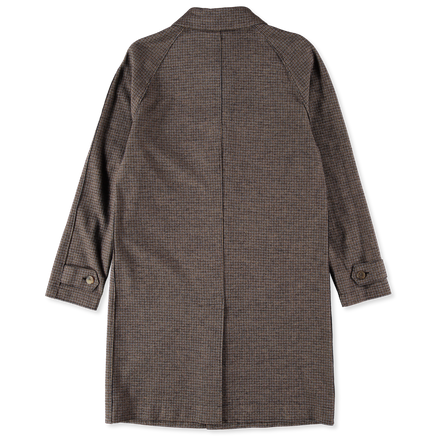 Fly Front Raglan Coat