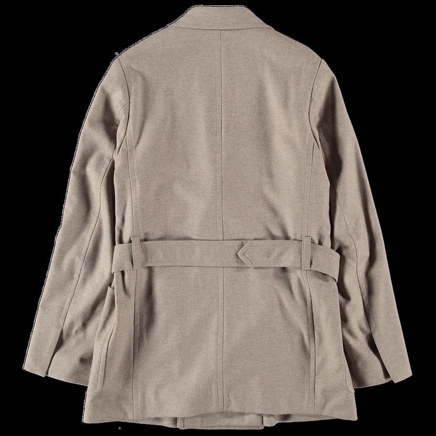 Wool Fulling Flannel Jacket
