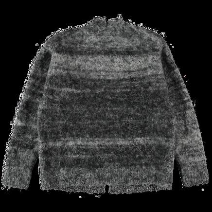 Alpaca Felt Knit Cardigan