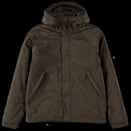 Hooded Short Nylon Jacket