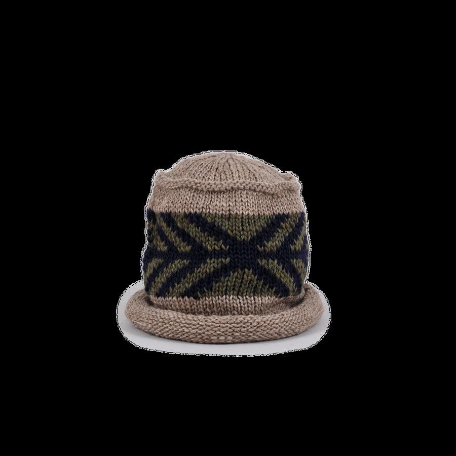 Wool Jacquard Cap