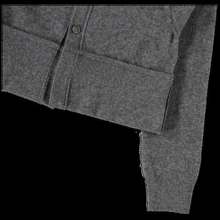 Cropped V-Neck Cardigan