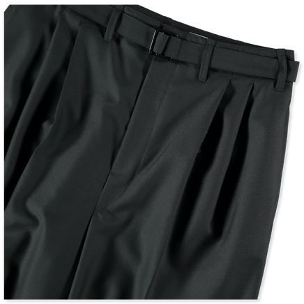 Belted Pleat Pant