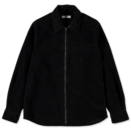 Cord Zip Overshirt