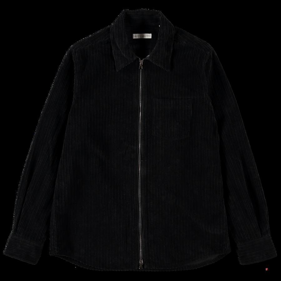 Cord Zip Overshirt
