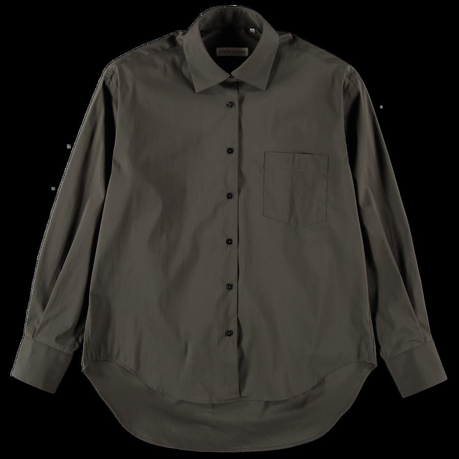 Oversized Cotton Stretch Shirt